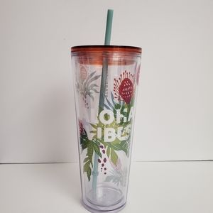 NWT Starbucks Aloha Vibes Hawaii Double Wall Cup